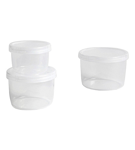 HAY Set of three small containers