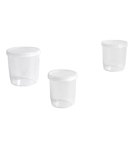 HAY Set of three medium containers