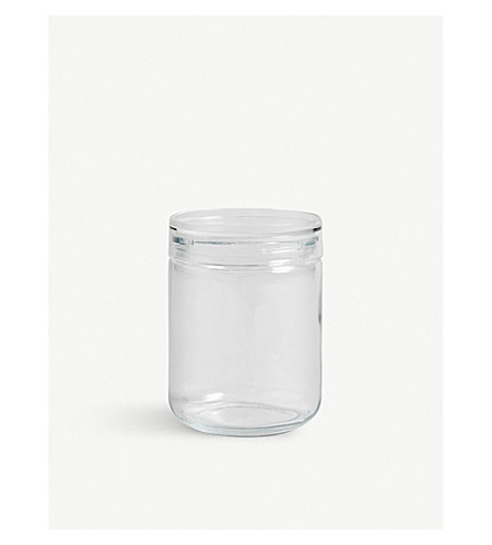 HAY Hay japanese glass jar lclear