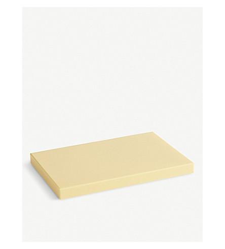 干草矩形木菜板