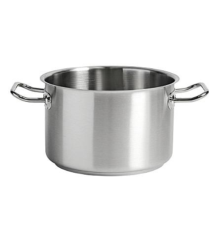 HAY Stainless steel deep casserole 22cm