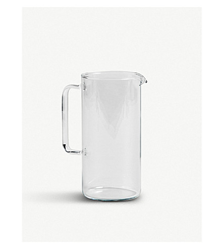 HAY Clear glass jug 2L