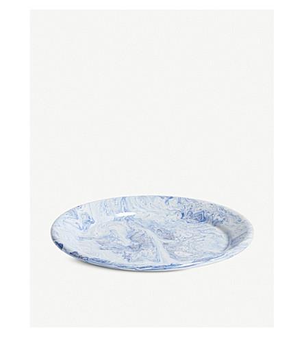 干草柔和冰餐盘