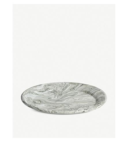 HAY Soft ice dinner plate
