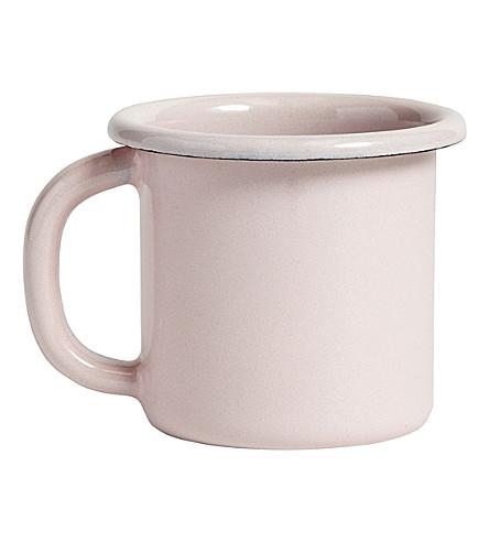 HAY Enamelled steel mug