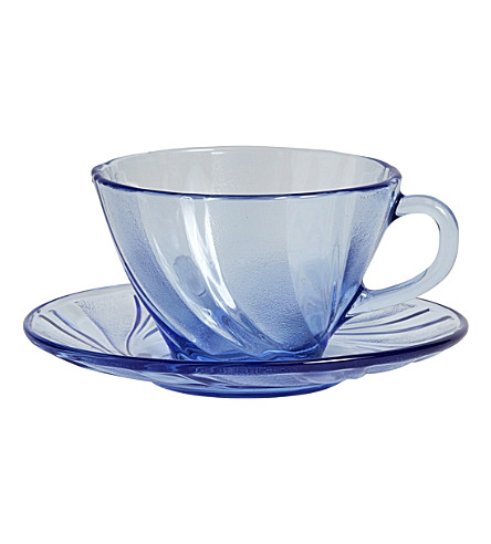 HAY French coffee cup and saucer