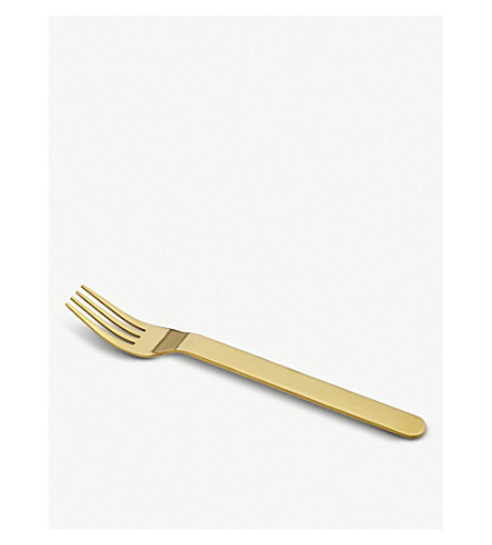 HAY Everyday golden fork set of five