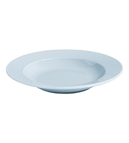 HAY Rainbow porcelain deep plate
