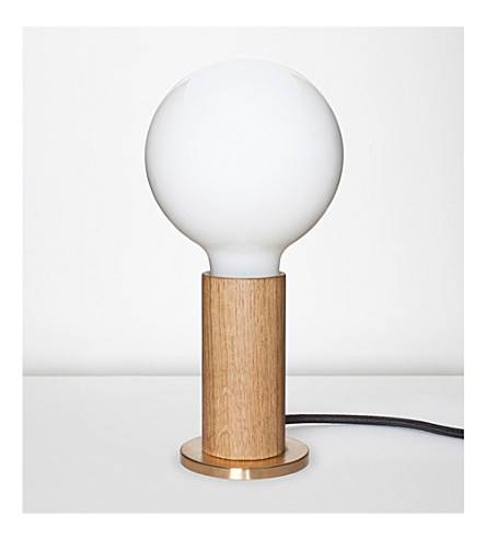 TALA Touch Lamp oak lamp
