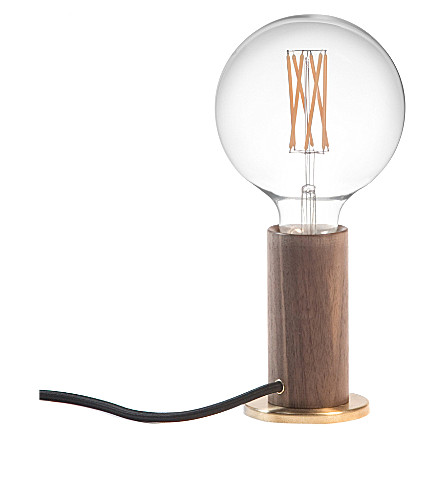 TALA Touch Lamp walnut lamp