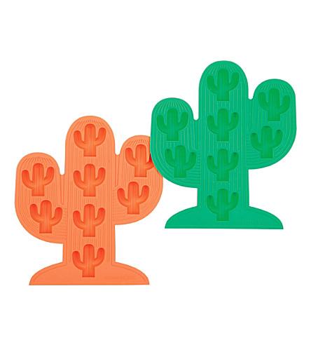 SUNNYLIFE Cactus ice-cube trays set of 2