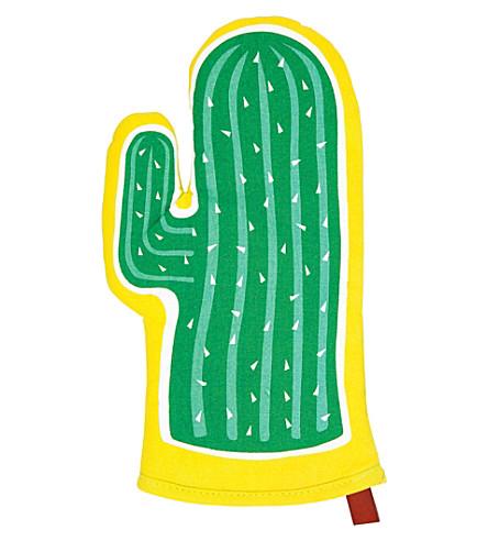 SUNNYLIFE Cactus BBQ & oven mitt