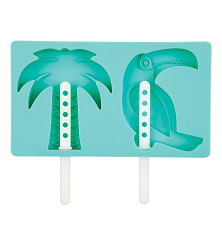 SUNNYLIFE Tropical pop mould tray