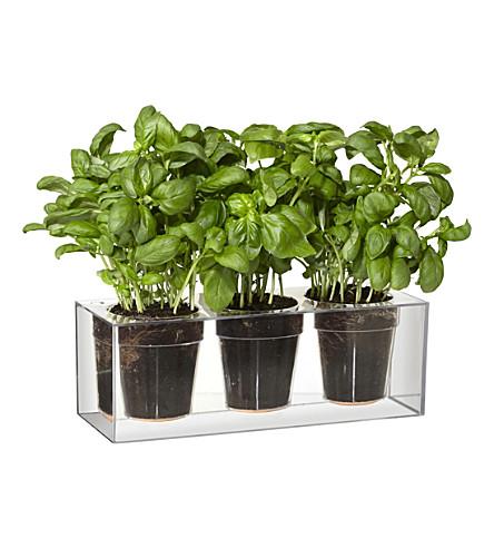 BOSKKE Boskke triple cube plastic planter 32.5cm