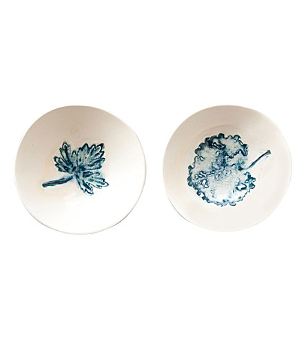 URBAN NATURE CULTURE Story of nature set of two stoneware bowls 14cm