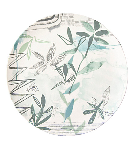 URBAN NATURE CULTURE Sketch of Nature Field Bamboo plate 28cm