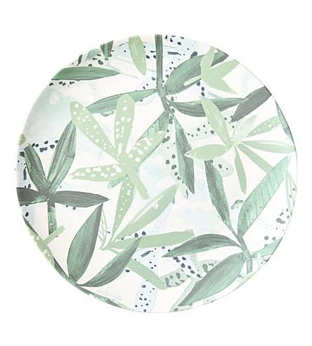 URBAN NATURE CULTURE Sketch of Nature Field Bamboo plate 20cm