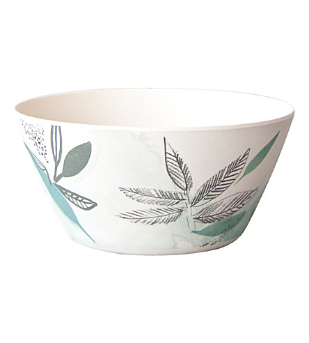 URBAN NATURE CULTURE Sketch of Nature field bamboo bowl 14cm