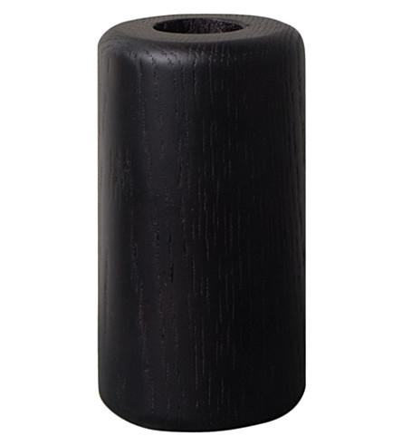 URBAN NATURE CULTURE Urban Nature Culture candle holder, black