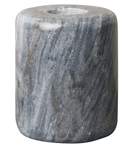 URBAN NATURE CULTURE Urban Nature Culture candle holder, marble black