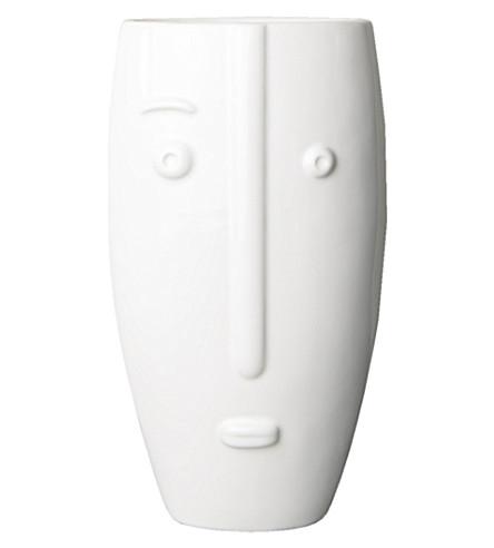 URBAN NATURE CULTURE Face porcelain vase 20cm