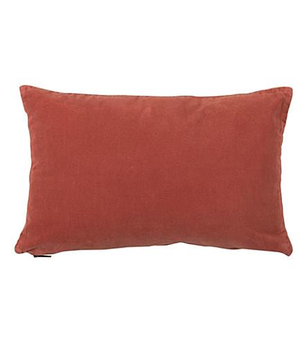 URBAN NATURE CULTURE Vintage velvet cushion