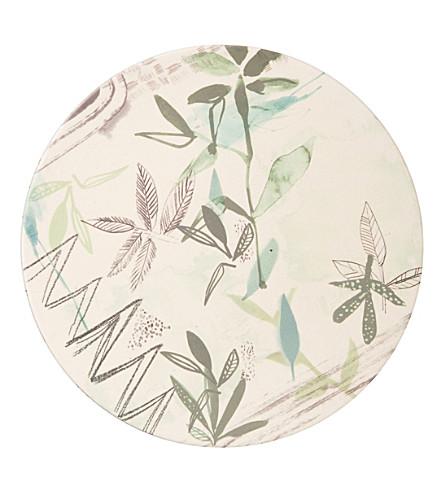 URBAN NATURE CULTURE Sketch of Nature Field Bamboo plate 28cm