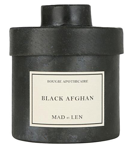 MAD ET LEN Bougie D'Apothicaire Black Afghan candle