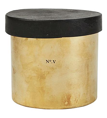 MAD ET LEN Bougie Fumiste Black Afghan candle 650g