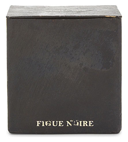 MAD ET LEN Bougie D'Apothicaire figue noir square candle