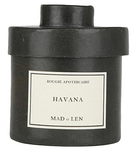 MAD ET LEN Bougie D'Apothicaire Havana candle