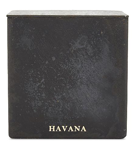 MAD ET LEN Bougie D'Apothicaire Havana square candle