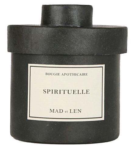 MAD ET LEN Bougie D'Apothicaire Spirituelle candle