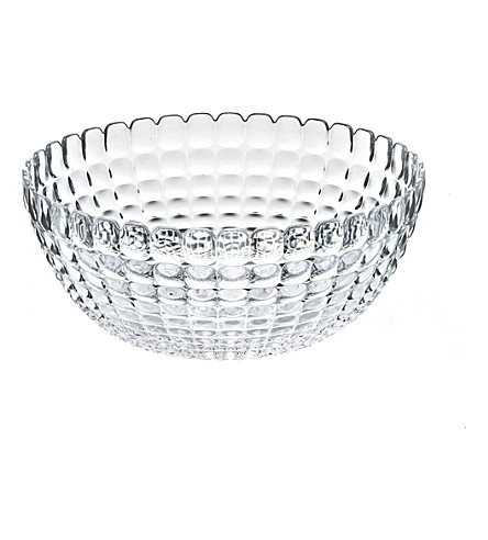 GUZZINI Tiffany extra-large plastic bowl (Clear