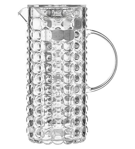 GUZZINI Tiffany plastic jug with infuser 1.75L (Clear