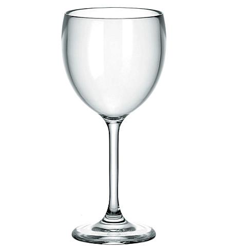 GUZZINI Happy Hour plastic wine glass 300ml (Clear