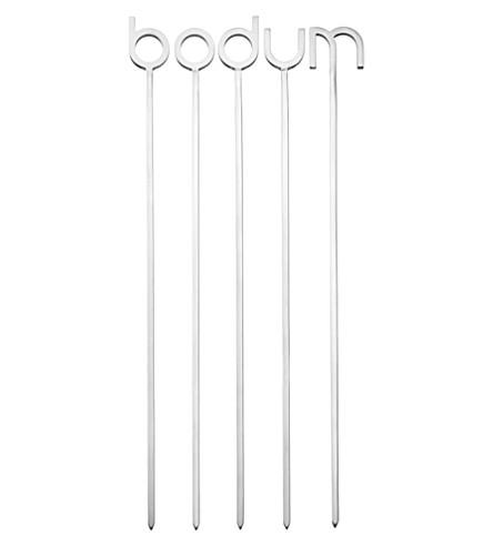 BODUM Stainless steel skewers 5 piece pack