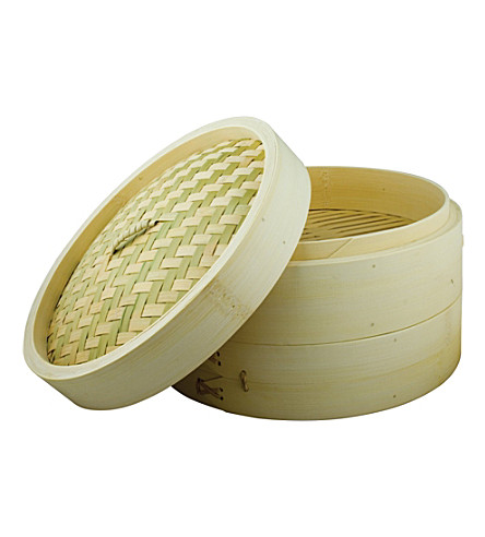 CHING Two-layer bamboo steamer