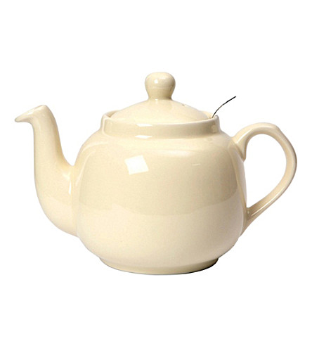 LONDON POTTERY Farmhouse six cup ceramic teapot