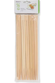 DEXAM Ten pairs of Bamboo chopsticks