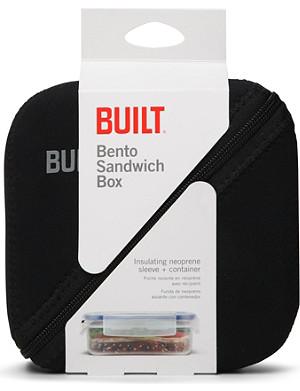 BUILT Bento sandwich box with sleeve