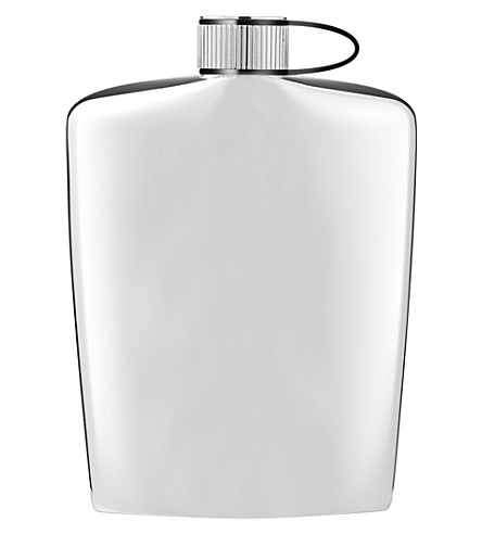 NUANCE Nuance hip flask, black, 13cm