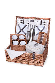 Naturals Tea four-person picnic hamper