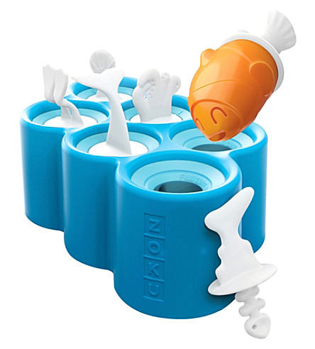 ZOKU Fish ice-pop moulds