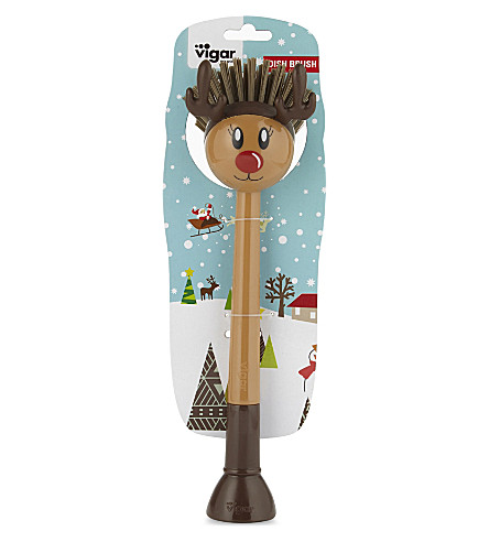 EDDINGTONS Rudolph novelty dishwashing brush