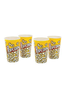 EDDINGTONS Set of four popcorn cups