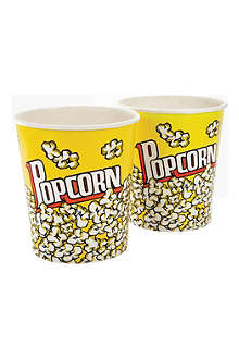 EDDINGTONS Set of two Family popcorn cups