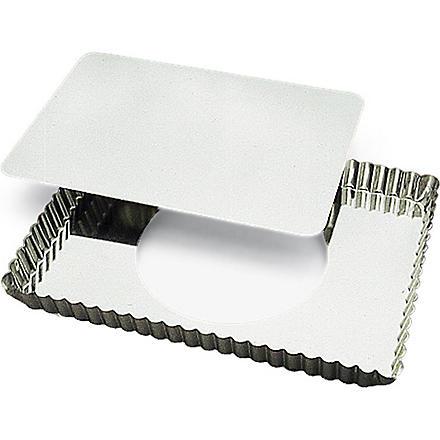 Rectangular tart mould with loose base 29 x 205cm