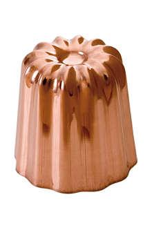 MAUVIEL Copper canele mould 55cm