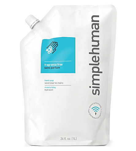 SIMPLE HUMAN Lavender scented soap refill pouch 1L